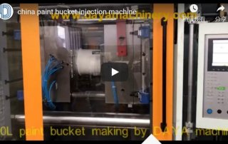 china paint bucket injection machine