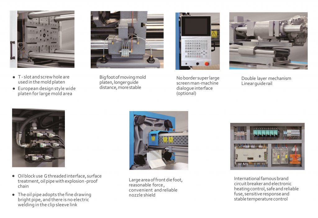 european style injection molding machine feature introduction_2
