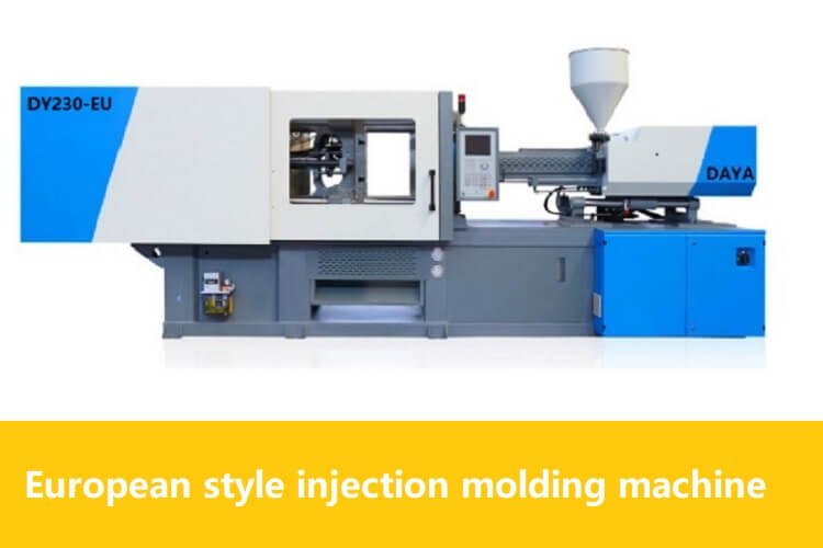 european style Injection molding machine