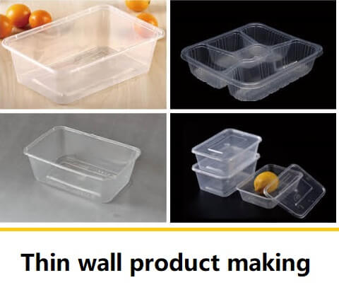 thin wall product making