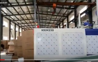 thin wall food container production video