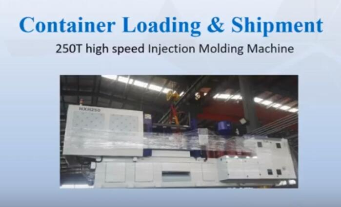 250 ton high speed machine shipment