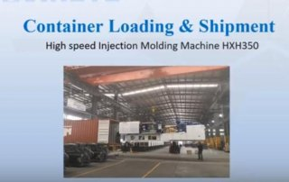 thin wall molding machine shipment