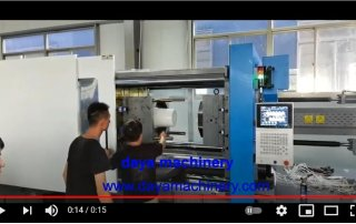 600 ton injection molding machine for paint bucket