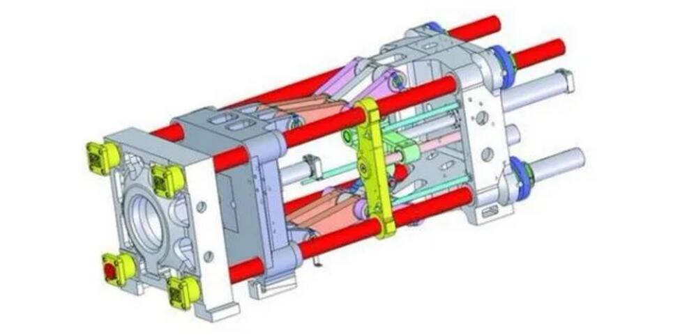 tie-bar of injection molding machine